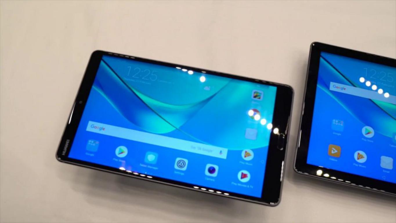 بلندگوهای فوقالعاده تبلت Huawei Mediapad M5